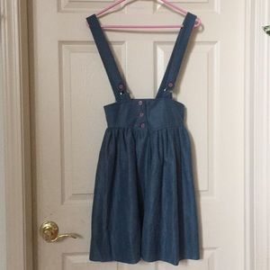 Beautiful Vintage Suspender Dress
